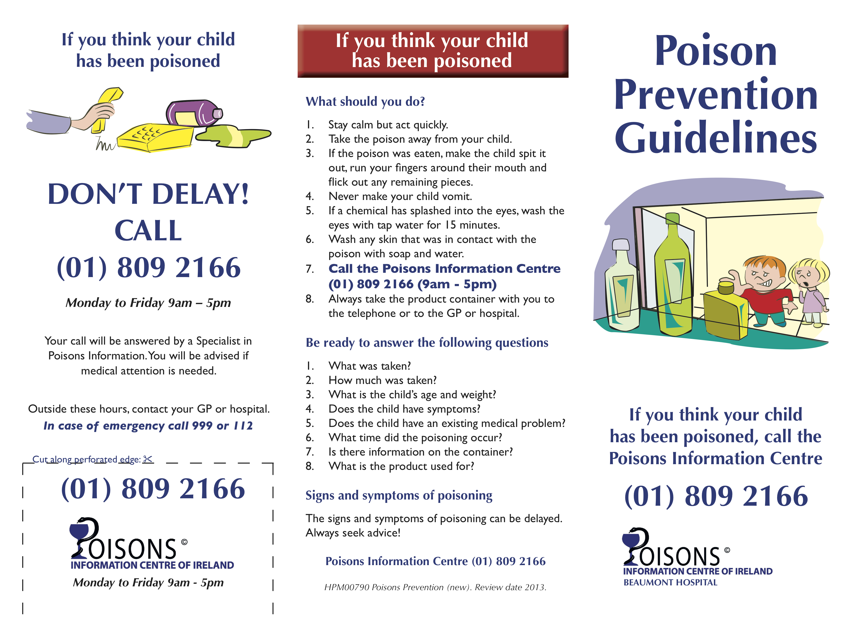 Poison Prevention recommend
