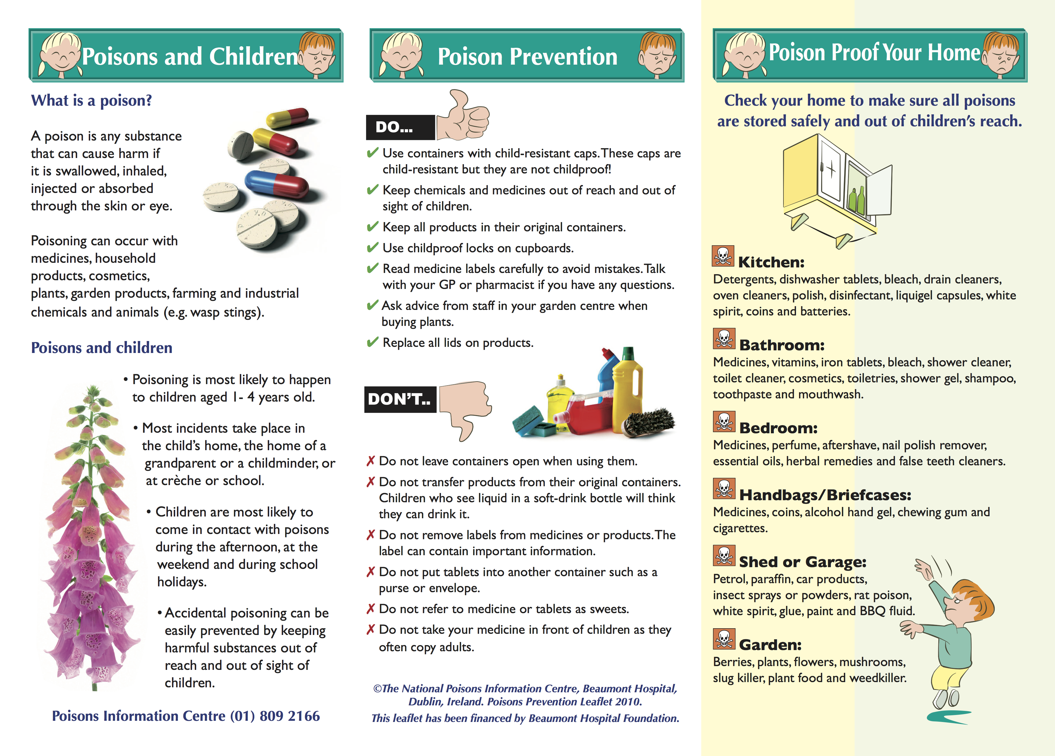 Poison Prevention pictures